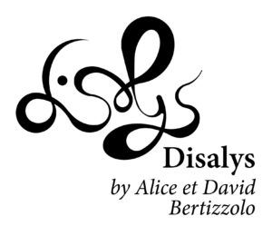 Disalys logo - design - alice et david bertizzolo